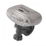 Svítilna na kolo přední 5 LED diod 2xAAA