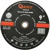 Kotouč řezný na kov, 230x2mm GEKO
