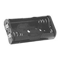 Pouzdro baterie  R03x2 vedle sebe