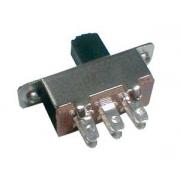 Přepínač šoupátkový-střední 2pol./6pin ON-ON (12V)
