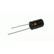 Kondenzátor elektrolytický   2M2/100V 5x11-2.5  SKR   rad.C  *
