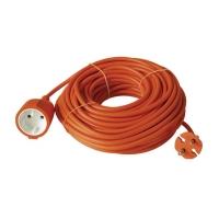Prodlužovací kabel - spojka 20m oranžový dvoužílový
