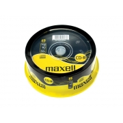 CD-R     700MB MAXELL 52x 25 ks