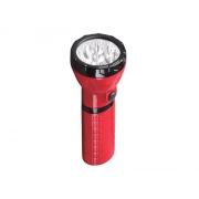 Svítilna nabíjecí LED (9x), Plug-in, červenočerná (WN10)