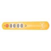 Ovladač dálkový  SEKI   SLIM žlutý pro seniory - univerzální - velká tlačítka