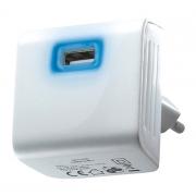 Adaptér   USB 5V/2400mA bílý DC08