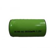 Nabíjecí článek NiMH SC 1,2V/3500mAh pásk.vývody 44x22mm
