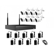 AMIKO WIFI KIT3, kamerový WIFI SET, 8 IP kamer 2MP, NVR 8CH