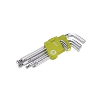 L-klíče imbus, sada 9ks 1,5-2-2,5-3-4-5-6-8-10mm, s kuličkou EXTOL CRAFT