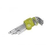 Sada L-klíčů EXTOL CRAFT TORX 66011