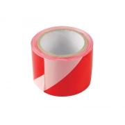 Páska výstražná červeno-bílá 75mm x 100m EXTOL CRAFT