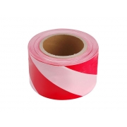 Páska výstražná červeno-bílá 75mm x 250m EXTOL CRAFT