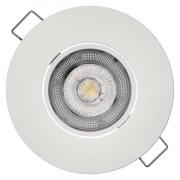 LED bodové svítidlo Exclusive bílé 5W teplá bílá