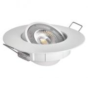 LED bodové svítidlo Exclusive bílé 5W neutrální bílá