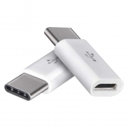 Adaptér USB micro B/F - USB C/M