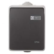 Přepínač 250 V/10 AX IP54 1 tlačítko