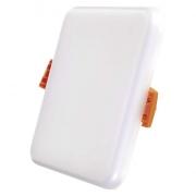 LED panel 100×100, vestavný čtverec bílý, 8W neutrální bílá