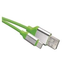 USB kabel 2.0 A/M - C/M 1m zelený