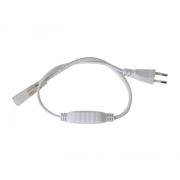 Flexo šňůra PVC pro led pásky 3528, 230V, 0.5m