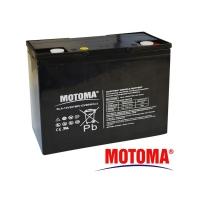 Baterie olověná 12V  20Ah MOTOMA pro elektromotory