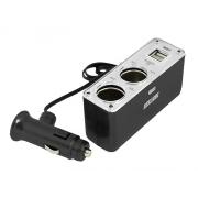 Autoadaptér LTC LX404V 2x USB 2x 12V