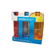 Sodastream láhev TriPack 1l Orange/Red/Green