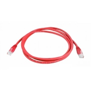 Kabel UTP 1x RJ45 - 1x RJ45 Cat5e 5m RED LTC LX8357