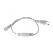 Flexo šňůra PVC pro led pásky 3528, 230V, 3m