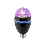 Párty žárovka multicolor Renkforce E27, černá