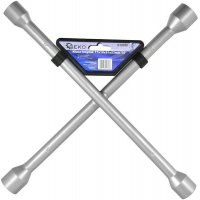 Klíč křížový na kola, 17x19x21x22mm GEKO