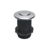 Drtič odpadů EcoMaster -  Samostatné pneutlačítko lesklý chrom 001010086