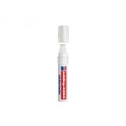 Popisovač křídový na sklo Edding 4090 fluorescenční bílá  4-15mm