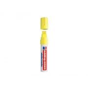 Popisovač křídový na sklo Edding 4090 fluorescenční žlutá 4-15mm