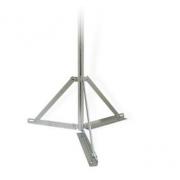 Stožár trojnožka 1,2m/48mm zinek Žár
