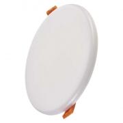LED panel 155mm, kruhový vestavný bílý, 13W neutrální bílá