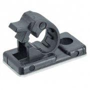 Cable Clamp | 12 mm | Self Adhesive | Polyamide 6.6