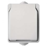 Přepínač nástěnný C.5 IP54 bílý