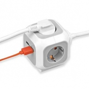 Brennenstuhl ALEA Power Cube - USB Charger Extention socket
