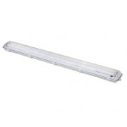 Svítidlo stropní prachotěsné, G13, pro 2x 120cm LED trubice, IP65, 127cm, WO512