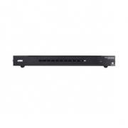 10-Port 4K HDMI Rozbočovač Černá