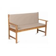 Potah na 3 místnou lavici - krémový FIELDMANN FDZN 9009