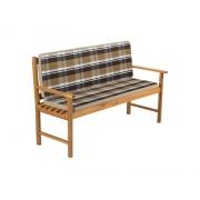 Potah na 3 místnou lavici - pruhovaný krémový FIELDMANN FDZN 9109