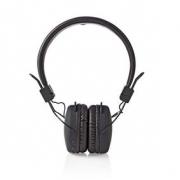 Bezdrátová Sluchátka | Bluetooth® | On-ear | Skládací | Černá barva