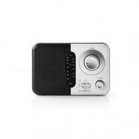 FM rádio   Přenosné Provedení   FM   Napájení z baterie / Síťové napájení   Analogový   2.4 W   Černo-bílý displej   Výstup pro
