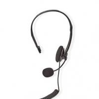 PC sluchátka | Na Uši | Mono | RJ9 | Sklopnou Mikrofon | 2.20 m | Černá