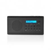 DAB+ Rádio | 3 W | FM | Hodiny S Funkcí Alarmu | Černá barva