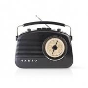 FM Rádio | 4,5 W | Přenosná Rukojeť | | Černá barva