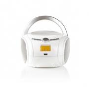 Přehrávač | 9 W | Bluetooth® | CD Přehrávač / FM Rádio / USB / Aux | Bílá barva