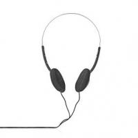 Kabelová sluchátka na uši | 3,5 mm | Délka kabelu: 1.20 m | Černá