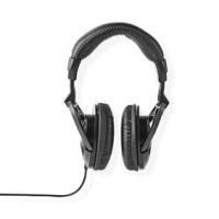 Kabelová Sluchátka Přes Uši | Délka kabelu: 2.50 m | Ovládání Hlasitosti | Černá